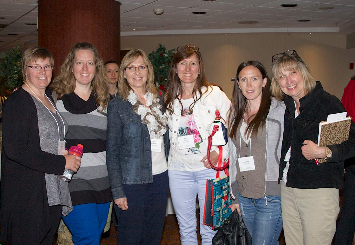 group of early childhood professionals
