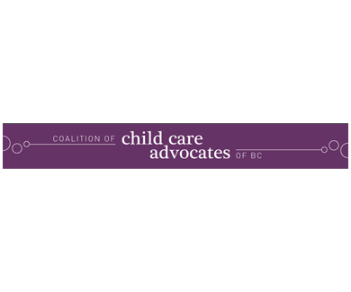 Coalition Of Child Care Advocates BC Logo