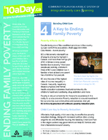 Fact Sheet 4: $10aDay Child Care
